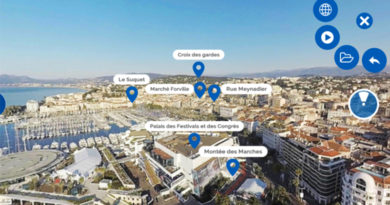 Cannes 360 : une application unique au monde au profit de la destination Cannes