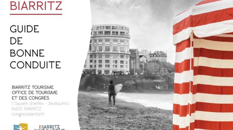 Biarritz Tourisme réalise un guide de bonne conduite sanitaire