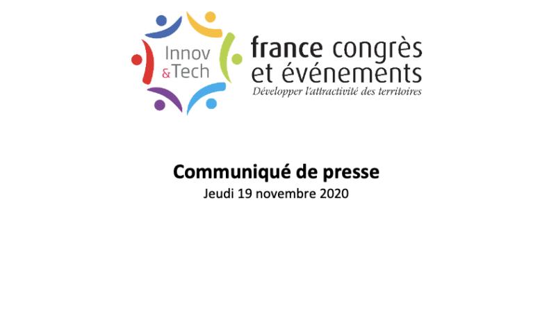 Le maire de Cannes David LISNARD élu Président de France Congrès et Evénements