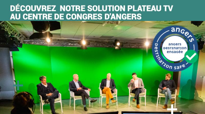 Découvrez la solution Plateau TV du Centre des Congrès d'Angers