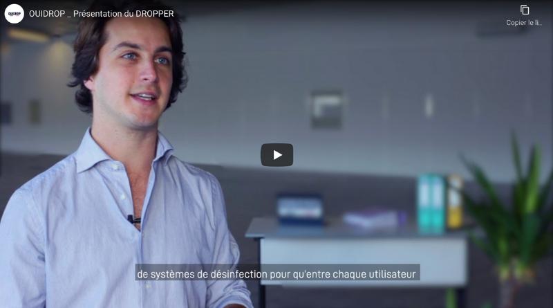 Les vestiaires automatisés OUIDROP en exposition à Paris Expo dès le 1er mars