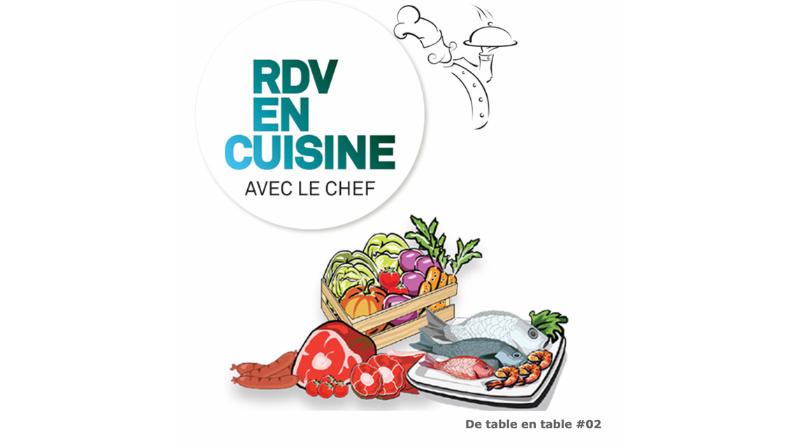 Le Havre Etretat Tourisme donne rendez-vous chaque semaine dans les cuisines de ses partenaires restaurateurs pratiquant la vente à emporter