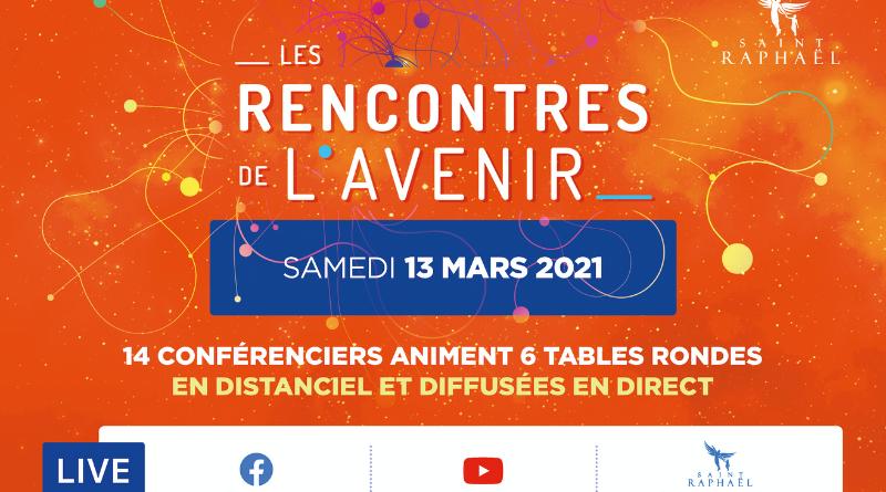 Les Rencontres de l'Avenir, évènement en direct et en distanciel organisé au Palais des Congrès de Saint-Raphaël le samedi 13 mars 2021