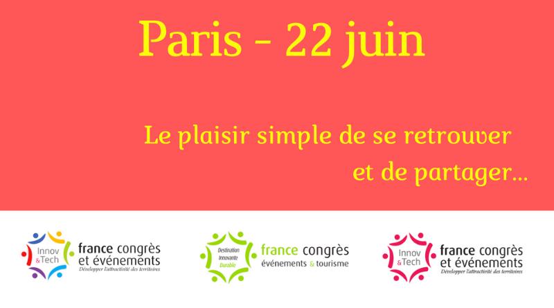 Paris – 22 juin, le plaisir simple de se retrouver et de partager…